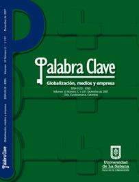 Ver Vol. 10 Núm. 2 (2007): Globalización, medios y empresa