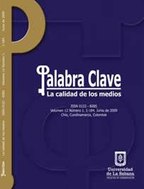 Ver Vol. 12 Núm. 1 (2009): La calidad de los medios